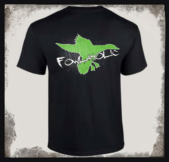 FOWLAHOLIC DESIGN  COTTON TEE
